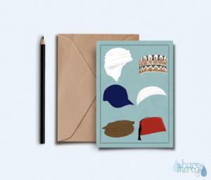 Husband father brother Muslim greeting card