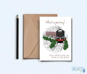 Muslim convert greeting card